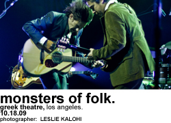 Monsters of Folk at Greek Theatre