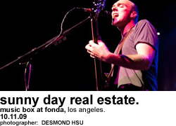 Sunny Day Real Estate at Music Box at Fonda