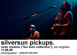 "Silversun Pickups at Siren Studios (""Kia Soul Collective"")"