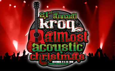winter in los angeles is upon us and for music fans that means one thing almost acoustic christmas is coming monday morning kroq announced night one of - Kroq Christmas