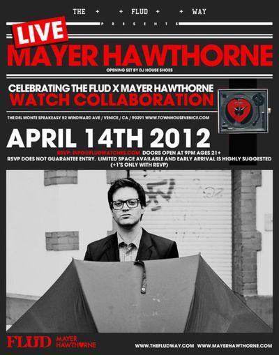 Mayer Hawthorne RSVP