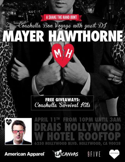 Mayer Hawthorne Flyer
