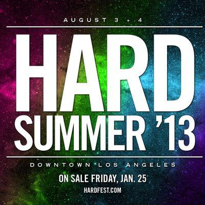 Hard Summer 2013
