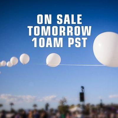 Coachella 2013 On Sale Tomorrow