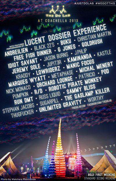 Coachella 2013 DoLab