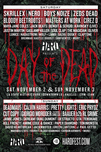 Hard Day of Dead 2013