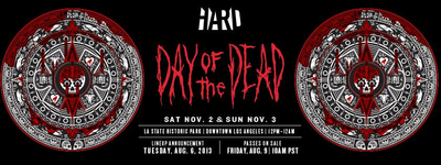 HARD Day Of The Dead 2013 Lineup Released