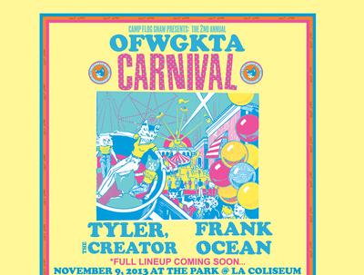 Camp Flog Gnaw Odd Future Carnival 2013