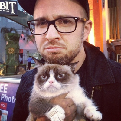 Frankie Chan Grumpy Cat