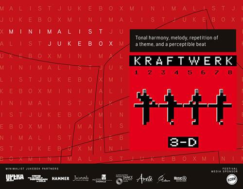 Minimalist Jukebox Festival Kraftwerk Walt Disney Concert Hall