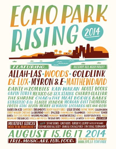Echo Park Rising 2014 Poster
