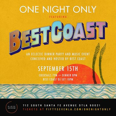 Best Coast Fifty Seven