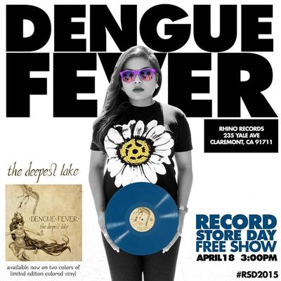 Dengue Fever Rhino Records Claremont 2015 Record Store Day