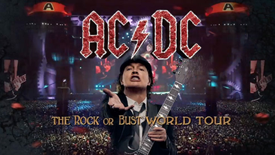 ACDC The Rock Or Bust World Tour 2015 Los Angeles Dodger Stadium