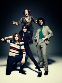 The Darkness 2015 Los Angeles The Glass House Pomona Festival Supreme Comedy Festival Shrine Expo Hall Last of Our Kind