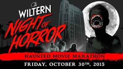 The Wiltern Night of Horror Halloween Los Angeles 2015