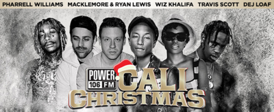 Power 106 Cali Christmas 2015 The Forum Inglewood Pharell Williams Macklemore & Ryan Lewis Wiz Khalifa Travis Scott Dej Loaf Los Angeles