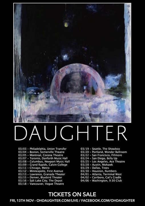 Daughter To Perform At Theatre At Ace Hotel (The Scenestar)