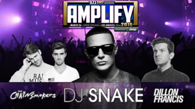97.1-AMP-Radio-Amplify-2016-Los-Angeles-Shrine-Expo-Hall-The-Chainsmokers-DJ-Snake-Dillon-Francis-Localchella-Coachella