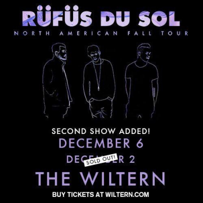 Rufus Du Sol Now Has Two Shows At Wiltern