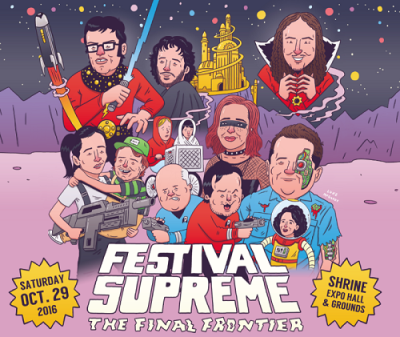 Festival-Supreme-2016-Los-Angeles-The-Shrine-Flight-Of-The-Conchords-Weird-Al-Yankovic