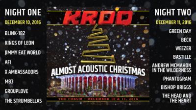 Almost-Acoustic-Christmas-2016-Los-Angeles-The-Forum-Inglewood-Beck-Blink-182-Weezer-Kings-Of-Leon-Jimmy-Eat-World-Phantogram