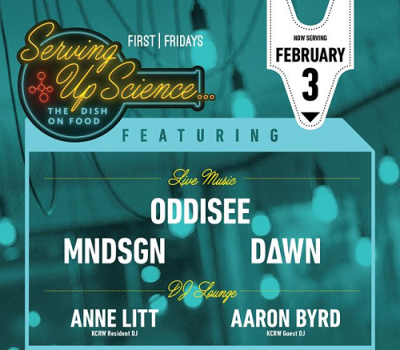 First Fridays 2017 Los Angeles Natural History Museum Serving Up Science Oddisee MNDSGN Dawn Anne Litt Aaron Byrd KCRW