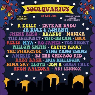 Soulquarius 2017 Santa Ana The Observatory Grounds R Kelly Erykah Badu Ja Rule Ashant Jhene Aiko Brandy Monica Music Festival