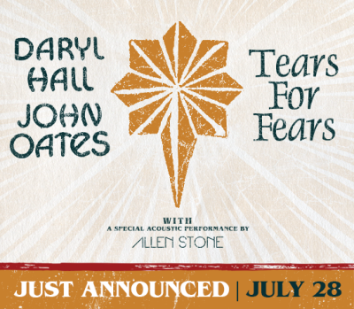 Daryl Hall and John Oates Tears for Fears Staples Center DTLA Los Angeles 2017