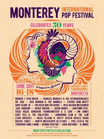 Monterey International Pop Festival 2017 Monterey County Fairgrounds Music Festival