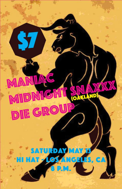 Maniac Midnite Snaxxx Die Group Hi Hat 2017 Los Angeles Highland Park
