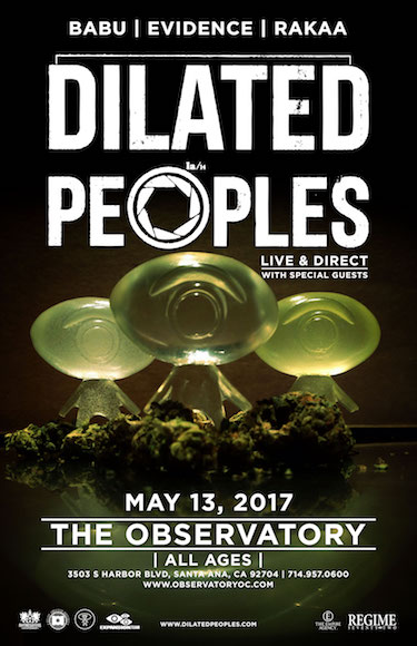 Dilated Peoples Observatory Santa Ana 2017 Orange County