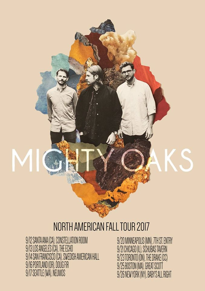 Mighty Oaks North American Fall Tour 2017