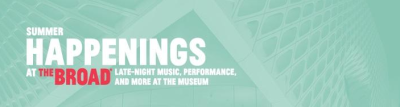 The Broad Los Angeles 2017 Summer Happenings Music Series Devendra Banhart Xiu Xiu Jenny Hval A Place to Bury Strangers