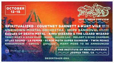 Desert Daze Festival Joshua Tree Institute of Mentalphysics Spiritualized Courtney Barnett 2017