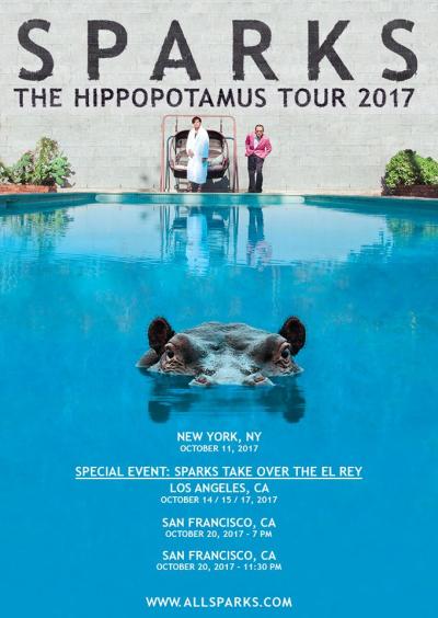 Sparks U.S. Tour 2017