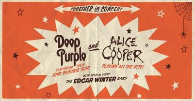 Deep Purple Alice Cooper 2017 Los Angeles Greek Theatre Los Feliz The Edgar Winter Band