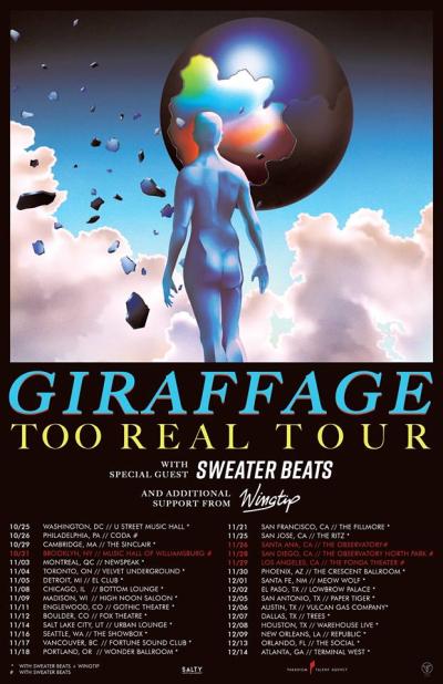 Giraffage Too Real Tour 2017