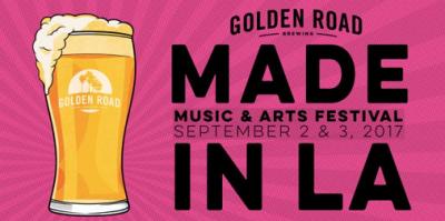 Made In LA 2017 Los Angeles Golden Road Brewery Glendale Music Festival Hanni El Khatib Yacht Buyepongo Korey Dane Warren G Iconique