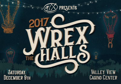 91X Wrex the Halls 2017 San Diego Valley View Casino Center Radio Music Festival The Lumineers The War on Drugs Arkells Vance Joy DREAMCAR