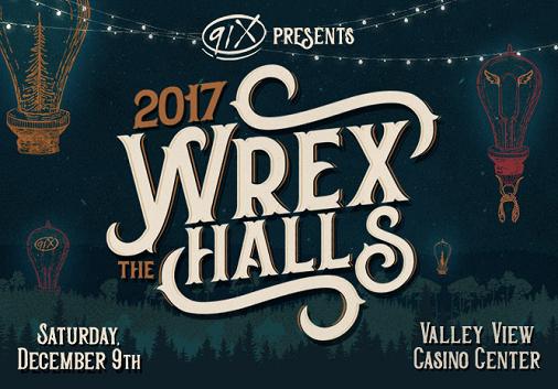 91X Wrex The Halls 2017 San Diego Valley View Casino Center Radio Music Festival The Lumineers The War On Drugs Arkells Vance Joy DREAMCAR