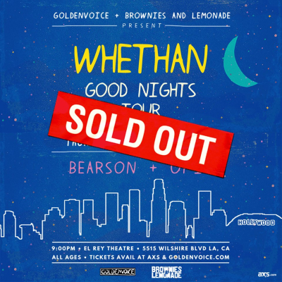 Whethan El Rey Theatre Los Angeles 2017 Bearson Opia Sold Out