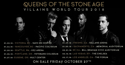 Queens of the Stone Age Villains World Tour 2018 Forum Los Angeles Inglewood
