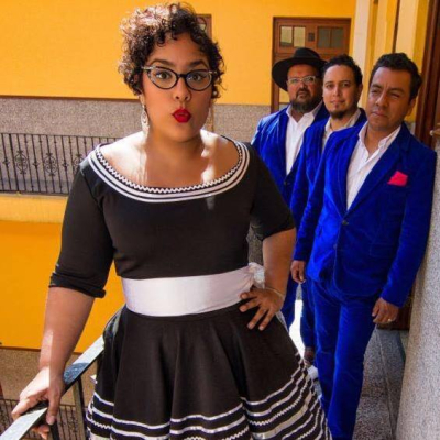 La Santa Cecilia LA Loves Mexico Benefit Show Zebulon Los Angeles 2017 Ceci Bastida Amanditita Tomasa del Real