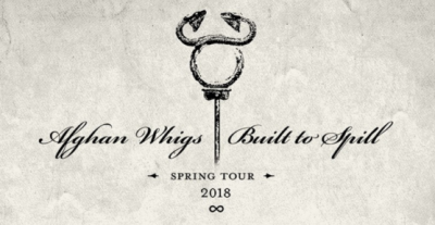 The Afghan Whigs Built to Spill Wiltern Los Angeles 2018 Co-Headlining Tour Ed Harcourt