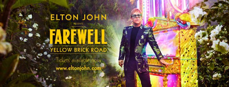 Elton John Staples Center DTLA Los Angeles 2018 Farewell Yellow Brick Road Tour