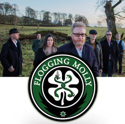Flogging Molly 2018 Los Angeles Hollywood Palladium Ventura Theater Life Is Good Saint Patrick's Day