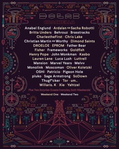 Coachella 2018 Empire Polo Club Indio Do Lab Stage Music Festival