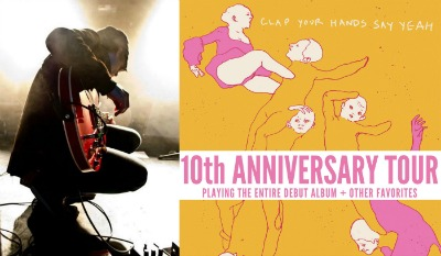Clap Your Hands Say Yeah 10th Anniversary Tour Troubadour Constellation Room 2015