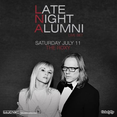 Late Night Alumni The Roxy Theatre 2015 West Hollywood Los Angeles